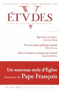 Antoine Sfeir et Denis Salas - Etudes N° 4194, Octobre 201 : .