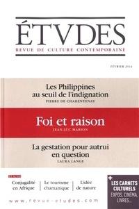 Jean-Luc Marion - Etudes N° 4202, Février 201 : Foi et raison.