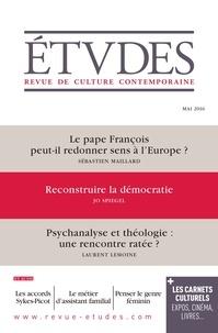 Sébastien Maillard et Jo Spiegel - Etudes N° 4227, Mai 2016 : .
