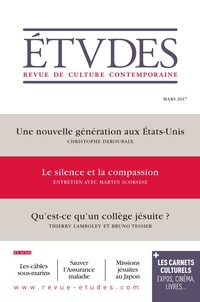 François Euvé - Etudes N° 4236, mars 2017 : .