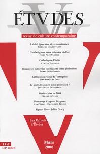 Pierre de Charentenay et Soko Phay-Vakalis - Etudes Tome 408 N° 3 (4083) : .