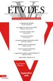 Etienne Klein et Patrick Verspieren - Etudes Tome 409 N° 3 (4093) : Les jeunes et la science.