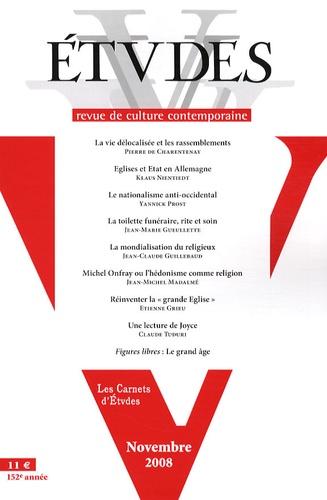 Pierre de Charentenay et Klaus Nientiedt - Etudes Tome 409 N° 5 (4095) : .