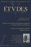 Jean-Pierre Dupuy et Catherine Wihtol de Wenden - Etudes Tome 410 N° 3 (4103) : .
