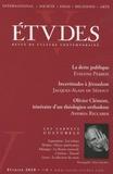 Etienne Perrot et Jacques-Alain de Sedouy - Etudes Tome 412 N° 2 (4122) : .