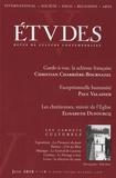 Christian Charrière-Bournazel et Paul Valadier - Etudes Tome 412 N° 6 (4126) : .