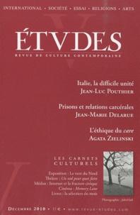 Jean-Luc Pouthier et Jean-Marie Delarue - Etudes Tome 413 N° 6 (4136) : .