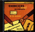 Elisa Chappey - Exercices d'oral en contexte - Niveau débutant. 2 CD audio