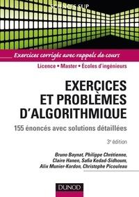 Bruno Baynat - Exercices et problèmes d'algorithmique - 155 énoncés avec solutions détaillées.
