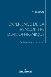 Tudi Gozé - Expérience de la rencontre schizophrénique - De la bizarrerie de contact.