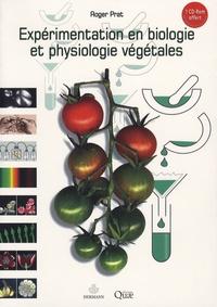 Roger Prat - Expérimentation en biologie et physiologie végétales - Trois cents manipulations.