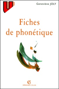Geneviève Joly - Fiches de phonétique.