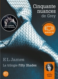 E.L. James - Fifty Shades Tome 1 : Cinquante nuances de Grey. 2 CD audio MP3