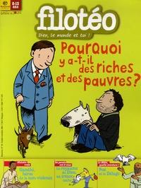 Bruno Frappat - Filotéo N° 181, Octobre-Nove : Pourquoi y a-t-il des riches et des pauvres ?.