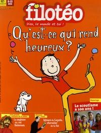Bruno Frappat - Filotéo N° 185, Juin-Juillet : Qu'est-ce qui rend heureux ?.