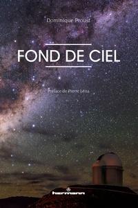 Dominique Proust - Fond de ciel.