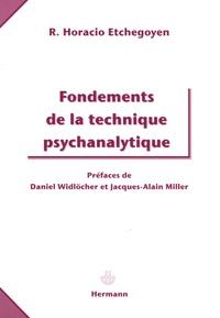 R-Horacio Etchegoyen - Fondements de la technique psychanalytique.