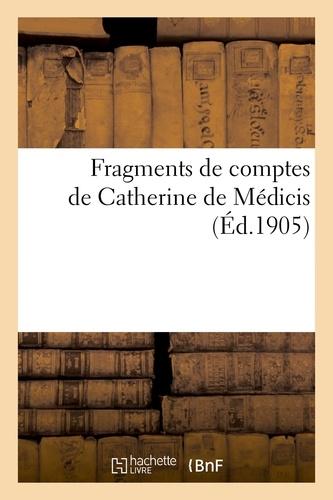 Hachette BNF - Fragments de comptes de Catherine de Médicis.