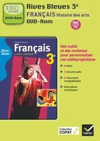 Hélène Potelet - Français Histoire des arts 3e Rives bleues. 1 DVD