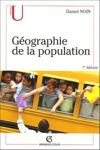 Daniel Noin - Géographie de la population.