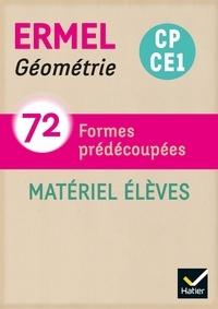 Hatier - Géométrie CP-CE1 - 72 formes prédécoupées.