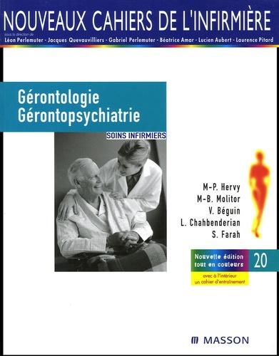 Marie-Pierre Hervy et Marie-Bernadette Molitor - Gérontologie et gérontopsychiatrie - Soins infirmiers.