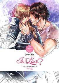 Hachette - Grand bloc Is it love ? - 50 coloriages anti-stress.