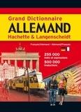 Hachette et  Langenscheidt - Grand dictionnaire allemand Hachette & Langenscheidt - Dictionnaire français-allemand et allemand-français.
