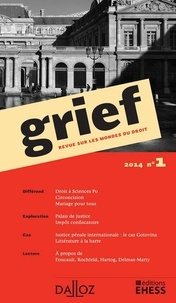 Olivier Cayla et Rainer Maria Kiesow - Grief N° 1/2014 : .