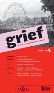 Olivier Cayla - Grief N° 4/2017 : .