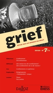 Olivier Cayla et Rainer Maria Kiesow - Grief N° 7/2/2020 : .