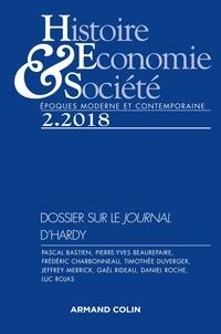 Pascal Bastien - Histoire, Economie & Société N° 2, 2018 : Autour du Journal (1753-1789) de Siméon-Prosper Hardy.