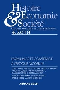 Isabelle Dasque - Histoire, Economie & Société N° 4, décembre 2018 : Parrainage et compérage à l'époque moderne.