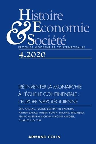 Isabelle Dasque - Histoire, Economie & Société N° 4, septembre 2020 : (Ré)inventer la monarchie à l'échelle continentale : l'Europe napoléonienne.