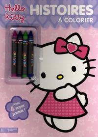 Hachette - Histoires à colorier Hello Kitty.