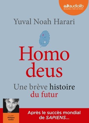 Yuval Noah Harari - Homo deus - Une brève histoire du futur. 2 CD audio MP3