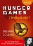 Suzanne Collins - Hunger Games Tome 2 : L'embrasement. 1 CD audio MP3