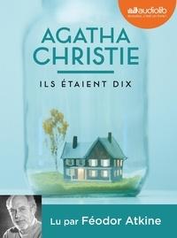Agatha Christie - Ils étaient dix. 1 CD audio MP3