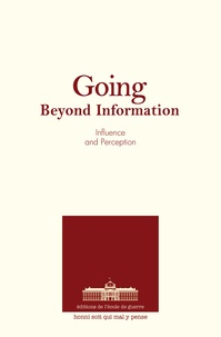 Collectif - Influence and perception - Going beyond information.