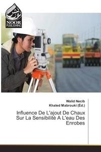 Walid Necib - Influence de l'ajout de chaux sur la sensibilite a l'eau des enrobes.