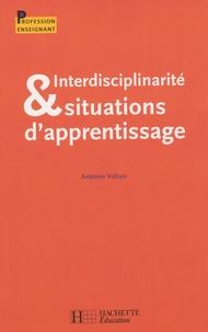 Antonio Valzan - Interdisciplinarité & situations d'apprentisssage.