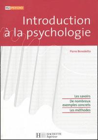 Pierre Benedetto - Introduction à la psychologie.