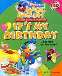 Hachette - It's my birthday. 1 CD audio