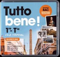Ivan Aromatario et Patrice Tondo - Italien 1re-Tle Tutto bene!. 1 Clé Usb