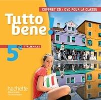 Ivan Aromatario et Patrice Tondo - Italien 5e LV2 Tutto bene !. 1 DVD + 2 CD audio