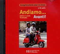 Hachette Education - Italien Tles 5e année Andiamo... Avanti ! - 2 CD audio classe.