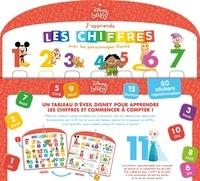 Hachette Jeunesse - J'apprends les chiffres avec les personnages Disney.