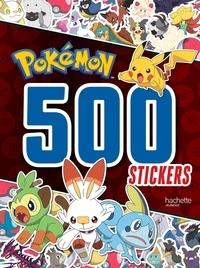 Hachette Jeunesse - 500 stickers Pokémon.