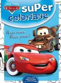Hachette Jeunesse - A vos roues... Prêts, partez ! - Super coloriage Cars.
