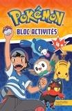 Hachette Jeunesse - Bloc activités Pokémon - 4+.